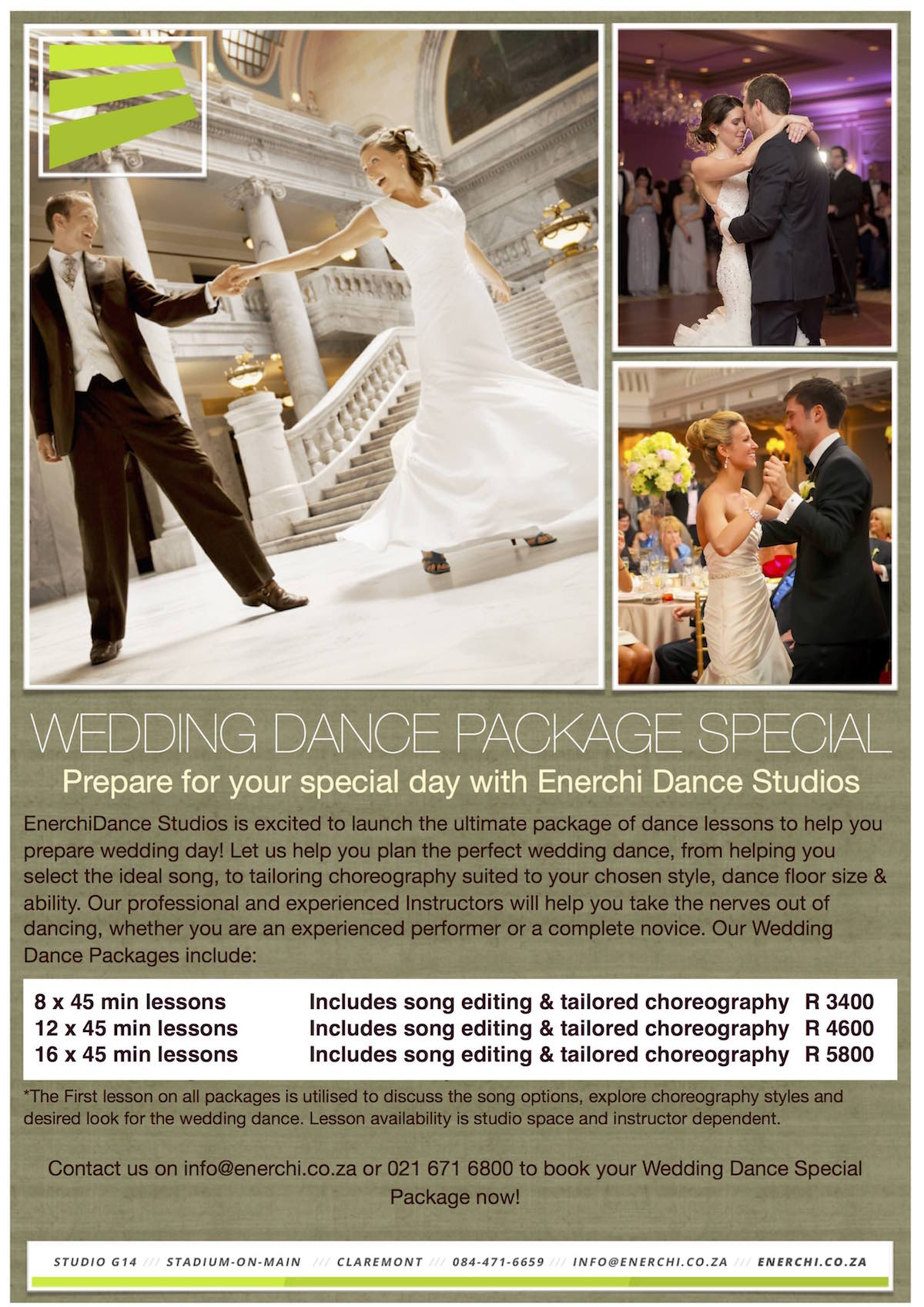 Wedding Lessons Flyer
